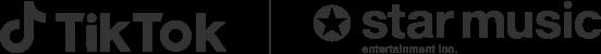 starmusic_tiktokロゴ